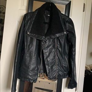 Brooklyn Industries Vegan Leather Jacket